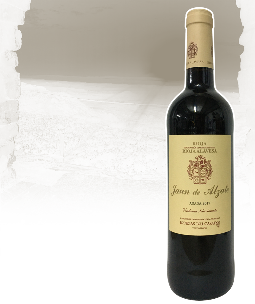 Botella de Jaun de Alzate Vendimia seleccionada